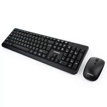 Беспроводной комплект клавиатура + мышь Гарнизон GKS-100